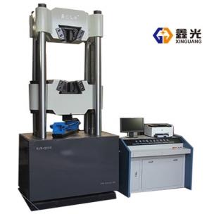 甘肃2000KN微机控制电液伺服万能试验机