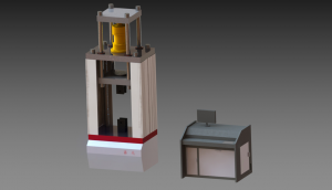 DLB-300KN型微机控制叠加式力标准机